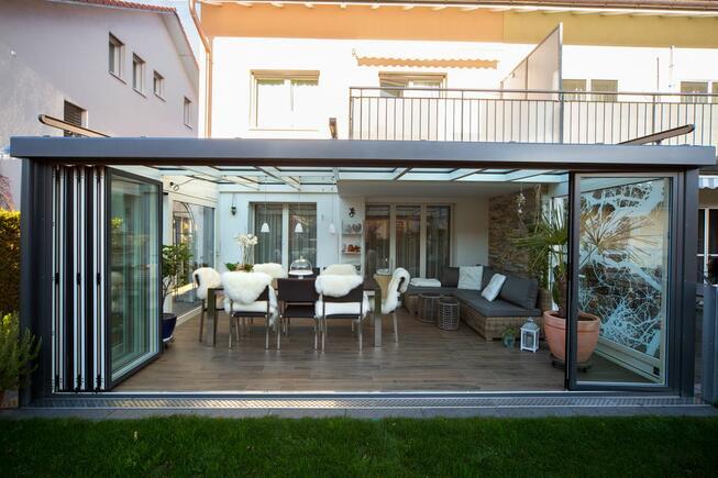 Projekte Anbau Wintergarten